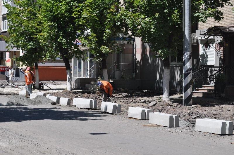 В Краматорске проверили ход выполнения реконструкции в Старой части города, фото-2