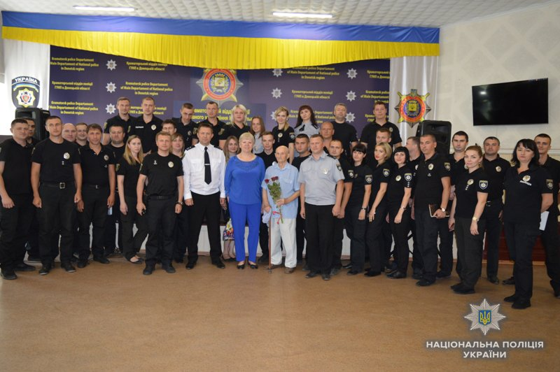 В День Национальной полиции Украины правоохранители Краматорска получили грамоты и специальные звания, фото-1