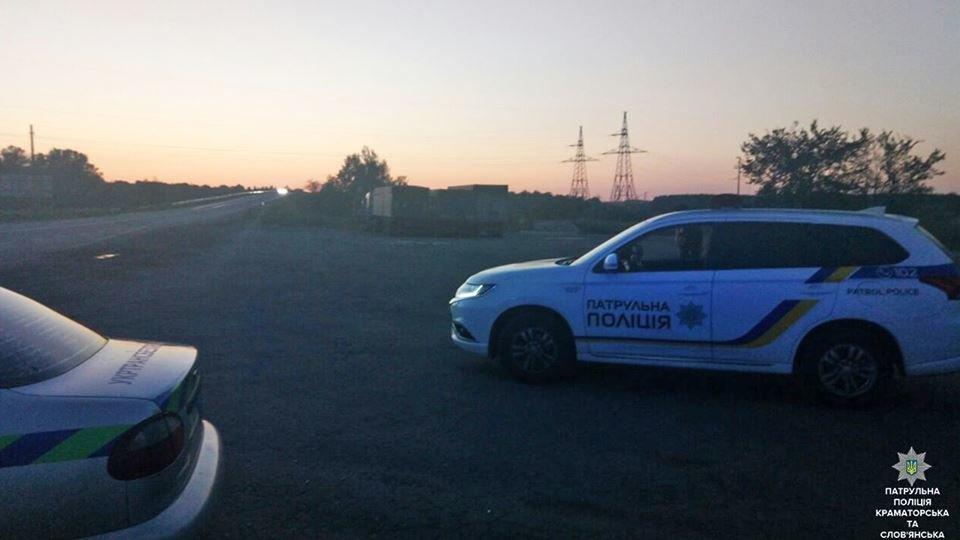 Патрульные Краматорска и Славянска фиксируют нарушения законодательства водителями большегрузного транспорта, фото-2