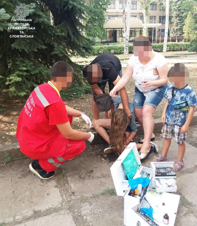 Праздновали День рождения: в Краматорске патрульные обнаружили двух нетрезвых подростков, фото-1