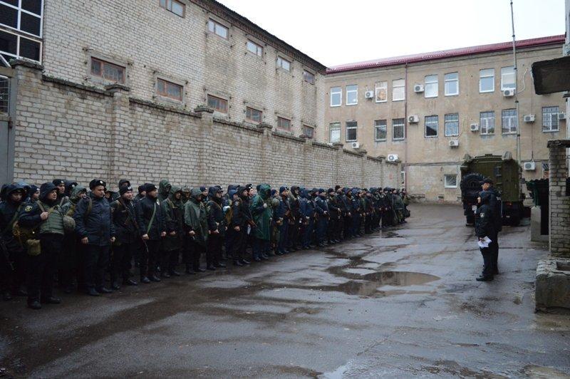 Руководство краматорской полиции проверило боеготовность своих подчиненных, фото-1