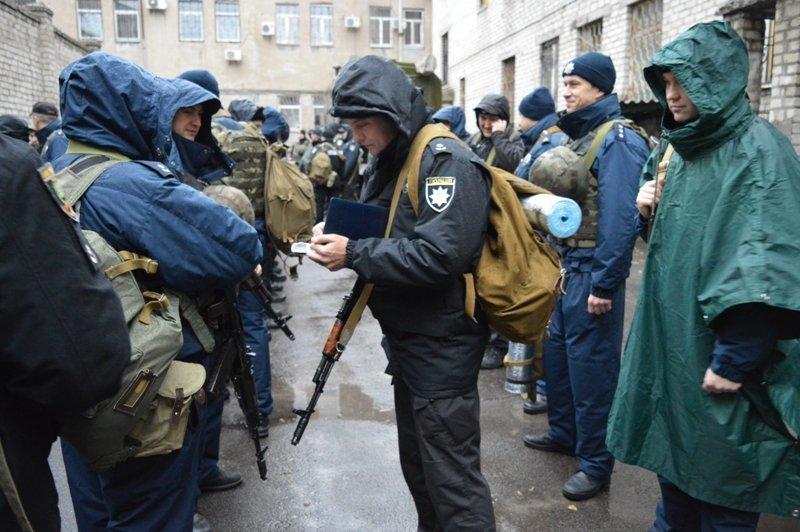 Руководство краматорской полиции проверило боеготовность своих подчиненных, фото-2