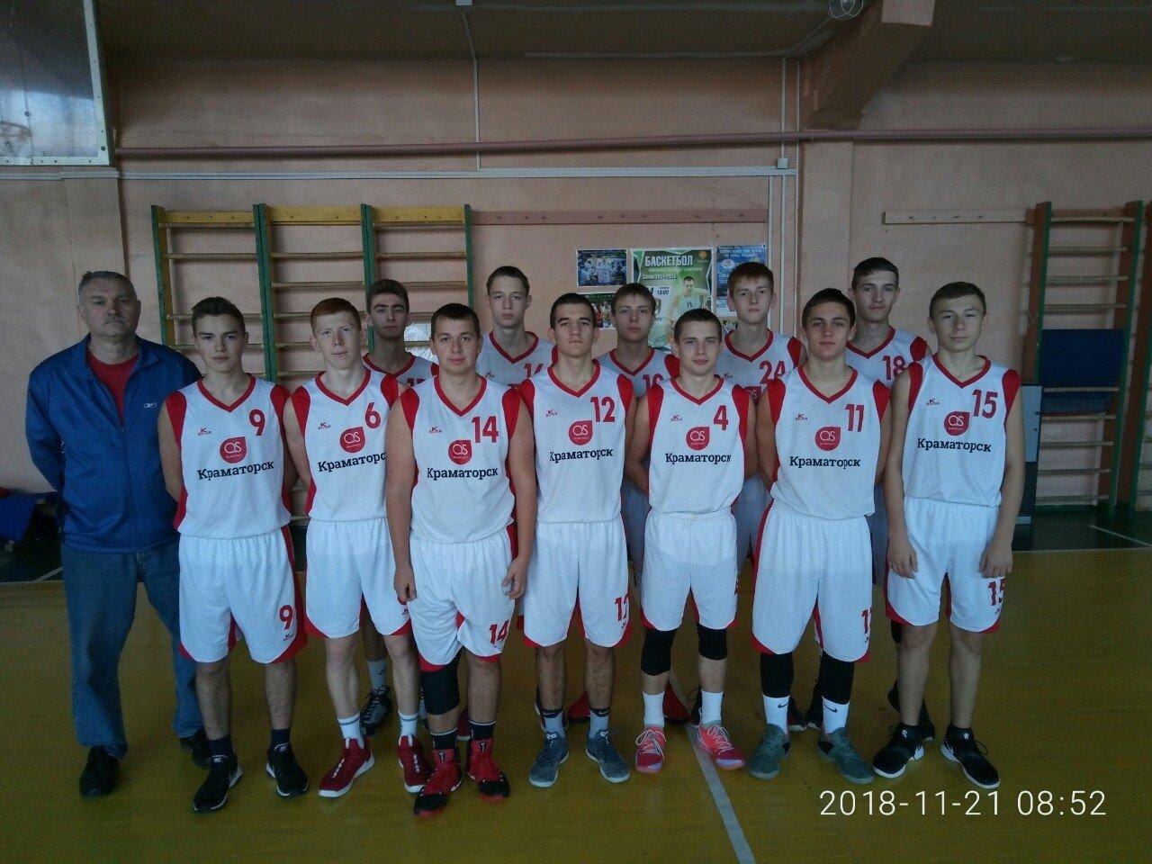 Баскетболисты Краматорска достойно показали себя на соревнованиях, фото-1