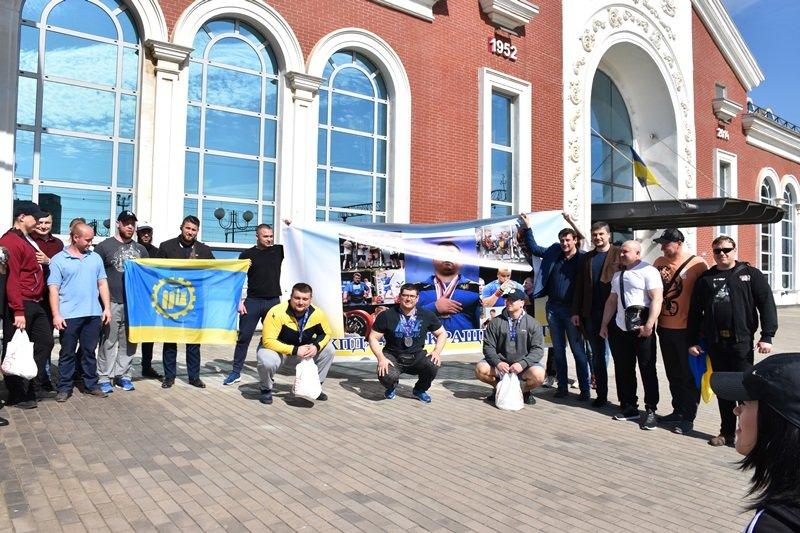 В Краматорську зустріли чемпіонів, фото-2
