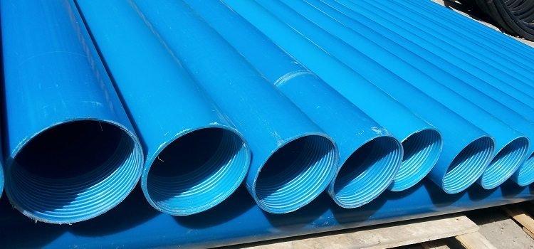 Трубы для глубоководных скважин с резьбой из ПВХ, фото-1