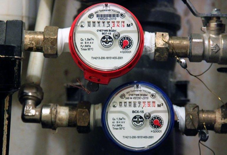 Счетчики воды для водопроводов - виды и типы, фото-1