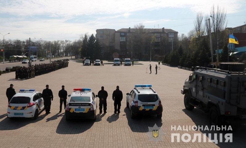 Накануне второго тура президентских выборов полиция Донетчины перешла на усиленный вариант несения службы